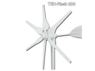Turbinas De Viento 12 0 24 v 600W+Controlador, Puerto Rico