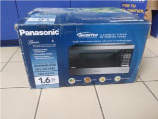 Panasonic 1.6cu Microwave Oven, Puerto Rico
