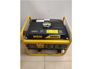 Wen generator 1800w, Puerto Rico