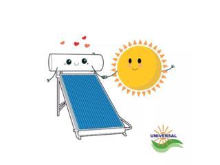Calentador de 3 placas solares , Puerto Rico