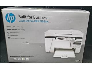 Printer HP Láser Jet Pro M26nw nuevo, Puerto Rico