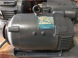 Industrial DC Motor 2 HP 180V FR: 185 TESTED, Puerto Rico
