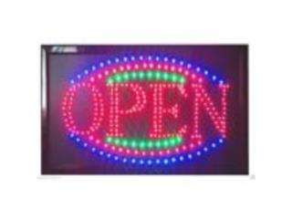 LED Open Sign 23 x 13, Puerto Rico