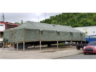 Carpas Militares  18 x 52 x 13 usadas, Puerto Rico