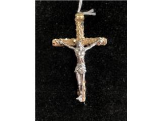 Charm Crucifijo 14k, Puerto Rico