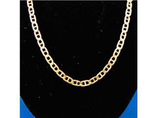 """Cadena Gucci en Oro 14kt de 21"""" de largo, Puerto Rico"""