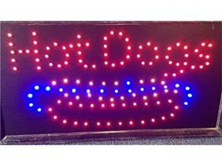 Led Sign HOTDOG 19 x 10., Puerto Rico