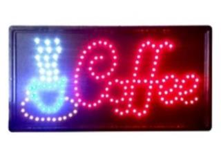 Led Sign COFFEE 19 x 10, Puerto Rico