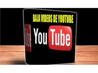 YOUTUBE DOWNLOADER ( BAJA VIDEOS DE YOUTUBE ), Puerto Rico