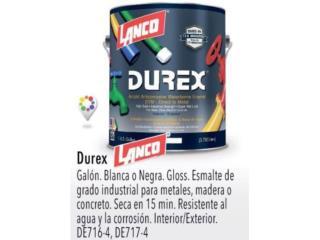DUREX LANCO, Puerto Rico