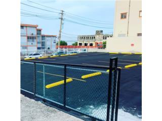 Wheel Stop cemento concreto murito parking, Puerto Rico