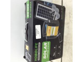 kit de lamparas solares, Puerto Rico