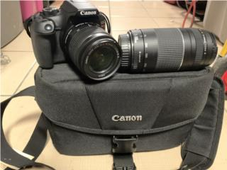 Canon Cámara T6, Puerto Rico