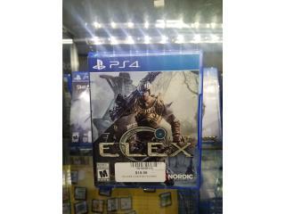 Elex PS4, Puerto Rico