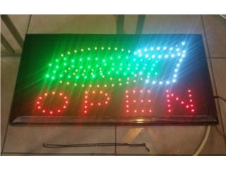 LED SIGN BURGUER & SODA 19 X 10 IN., Puerto Rico