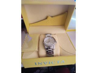 Reloj Invicta como nuevo de mujer $120, Puerto Rico