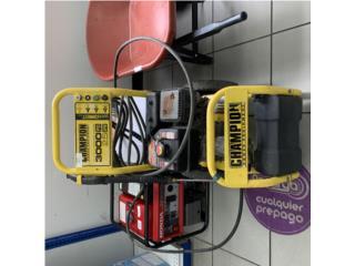 Máquina de presión champion, Puerto Rico