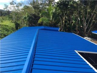Techos en galvalume, aluminio, fibrocemento, Puerto Rico