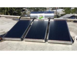CALENTADOR SOLAR UNIVERSAL METRO / ISLA, Puerto Rico