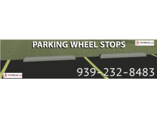 Estacionamiento wheel stop cemento Parking , Puerto Rico