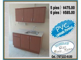 Gabinetes ** PVC**, Puerto Rico