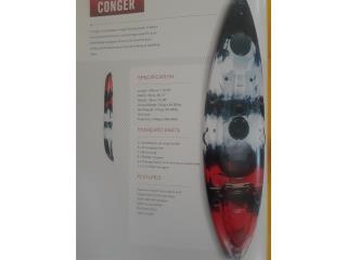 Venta fin verano Orza kayak 9.6 pies , Puerto Rico