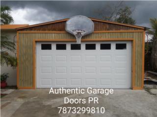 Puertas de garaje tradicionales., Puerto Rico