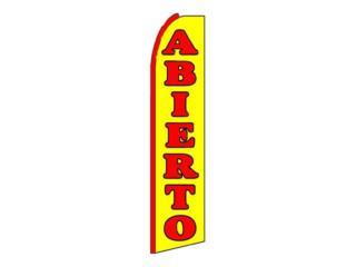 Banner Abierto 3 x 11.5, Puerto Rico