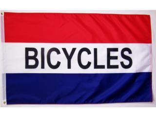 Banner BICYCLES 3 X 5, Puerto Rico