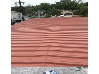 Techos de galvalume y aluminio industrial, Puerto Rico