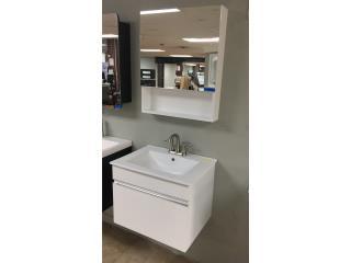 Vanity de baño en pvc, Puerto Rico