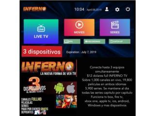 Software canales,series,películas hd, Puerto Rico