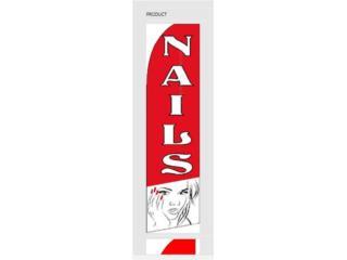 Banner NAILS 2.5 x 11.5, Puerto Rico