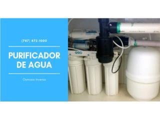 Purificador de agua Innovac, Puerto Rico