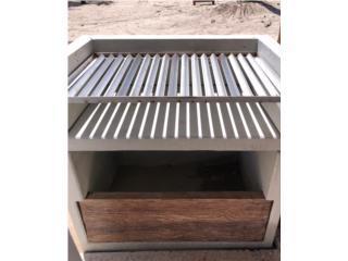 BBQ en concreto cemento parrilllas SS carbon, Puerto Rico