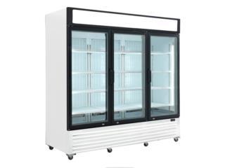 Freezer Comercial de 3 Puertas - MAXCOOL, Puerto Rico