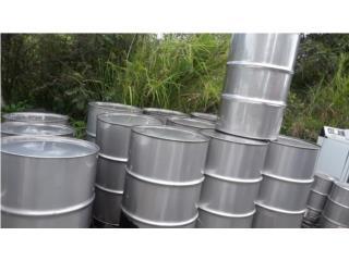 drones stainleestel 55 gls food grade, Puerto Rico