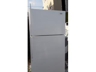 nevera 21pc blanca hace hielo en freezer gara, Puerto Rico