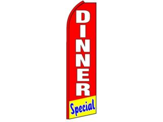 Banner DINNER SPECIAL 2.5 x 11.5, Puerto Rico