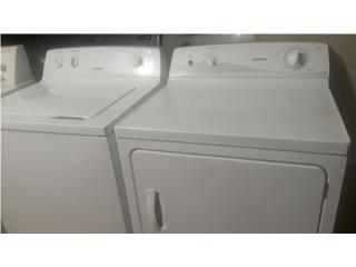 combo de lavadora y secadora de gas hot point, Puerto Rico