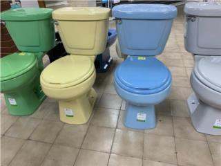 Inodoros de colores , Puerto Rico