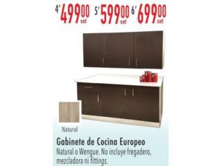 Gabinete de cocina europeo , Puerto Rico