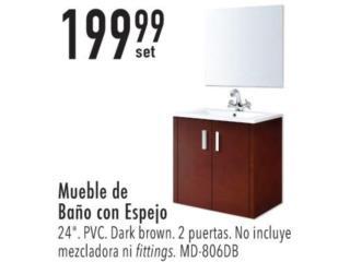 Mueble de baño con espejo , Puerto Rico