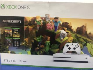 Microsoft XBOX ONE S Video Game SYS 1681 XB, Puerto Rico