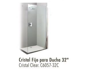 Cristal fijo para ducha 32'' , Puerto Rico