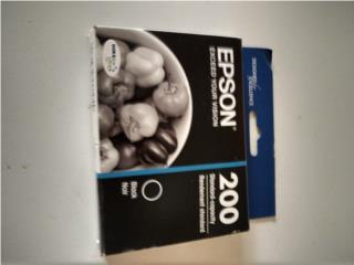 Tintas printer EPSON 200 black, Puerto Rico