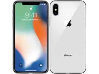 APPLE IPHONE X WHITE 64GB AT&T, Puerto Rico