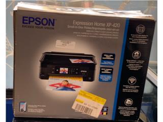 Epson Home XP-420, Puerto Rico