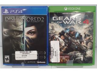 Oferta de Juegos PS4 y Xbox One, Puerto Rico