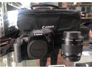 Canon T6 con Lente adicional , Puerto Rico